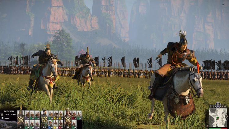 Total War Three Kingdoms Fates Divided Dlc Announcement Cao Cao Yuan Shao Guandu Dlc 1