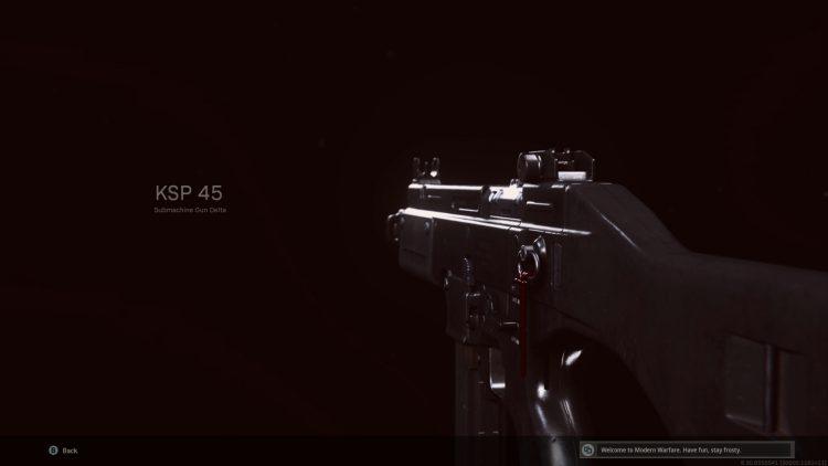 Warzone Ksp 45