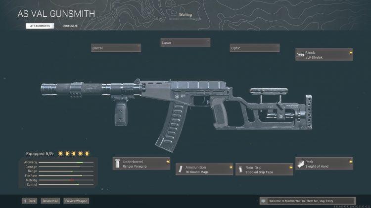 Warzone Solos As Val Gunsmith