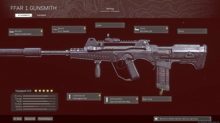 Warzone Solos best guns Ffar 1 Gunsmith