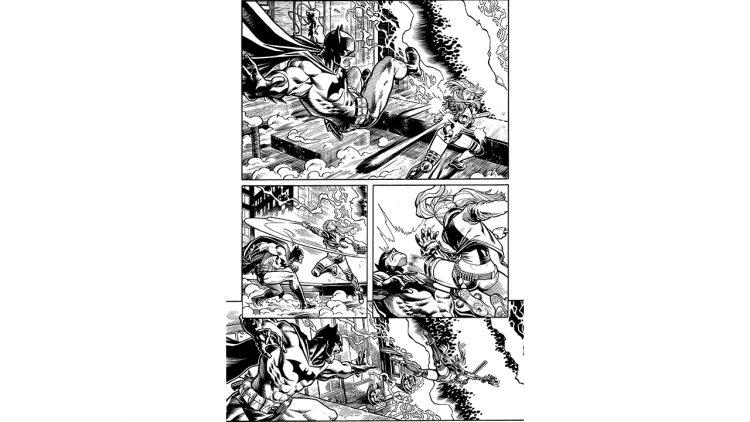 Batman Fortnite Comics