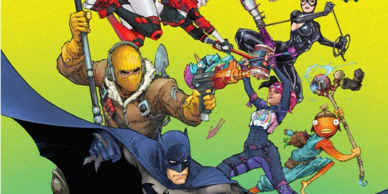 Fortnite Batman Skins Comics Crossover