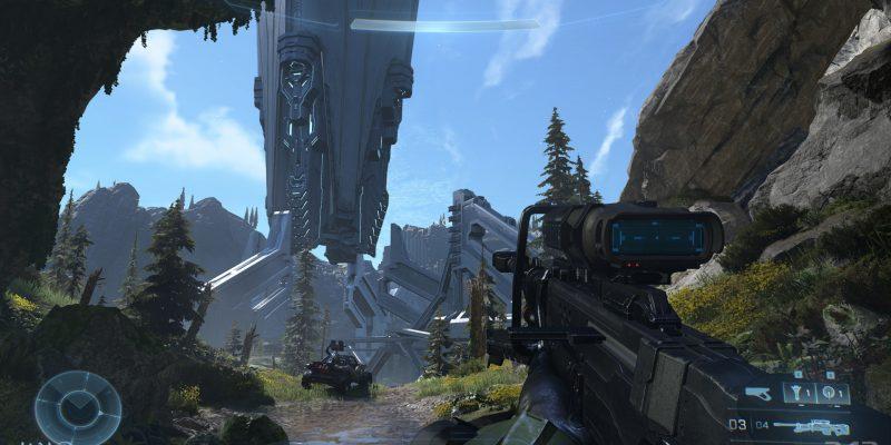 Halo Infinite Campaign Screenshots New Sniper