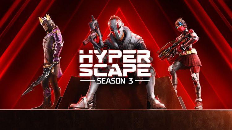 Ubisoft Hyper Scape Season 3 Shadow Rising Key Art