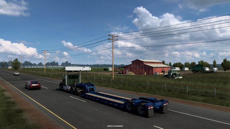 American Truck Simulator Texas Early 1