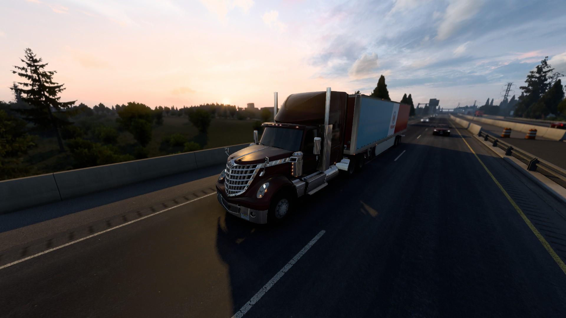 American Truck Simulator Update 1.40 Evening Shot 1