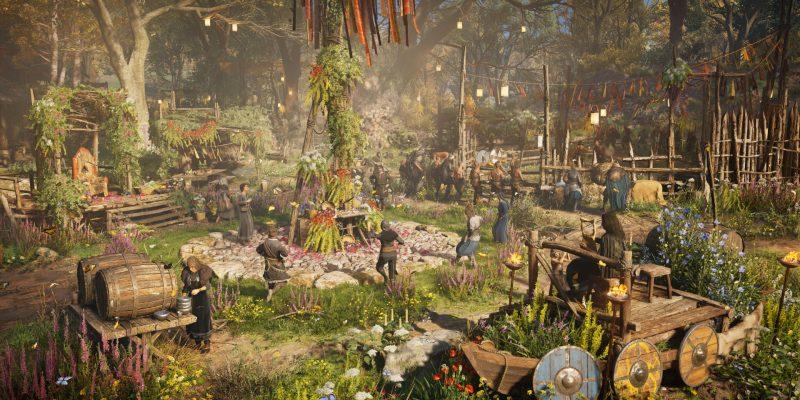 Assassin's Creed Valhalla Removes Festive Decorations Causing Crashes Ostara Festival