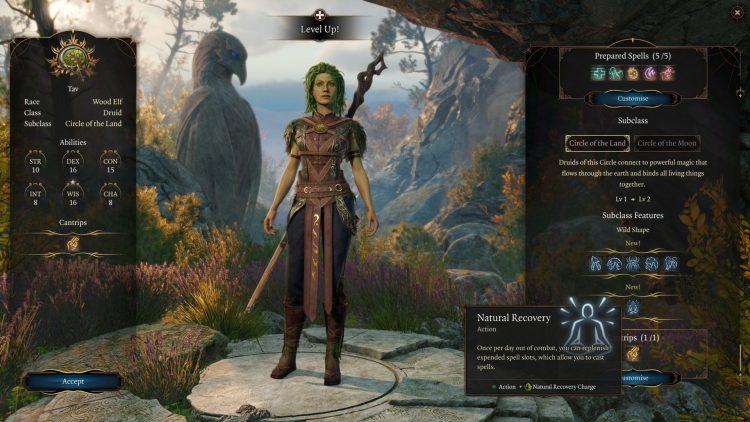 Baldur's Gate 3 Druid Subclass Guide Circle Of The Moon Or Circle Of The Land Bg3 Druid 2