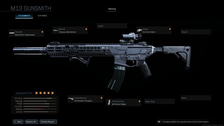 Call Of Duty Warzone M13 Build Gunsmith