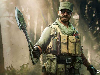 Black Ops Cold War E-Tool melee