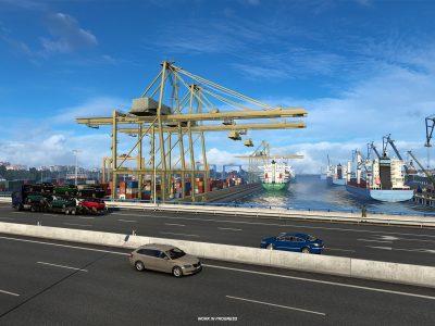Euro Truck Simulator 2 Iberia (porto) 1