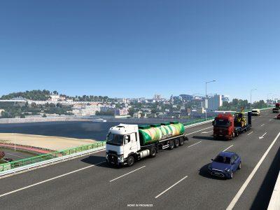 Euro Truck Simulator 2 Iberia (porto) 2