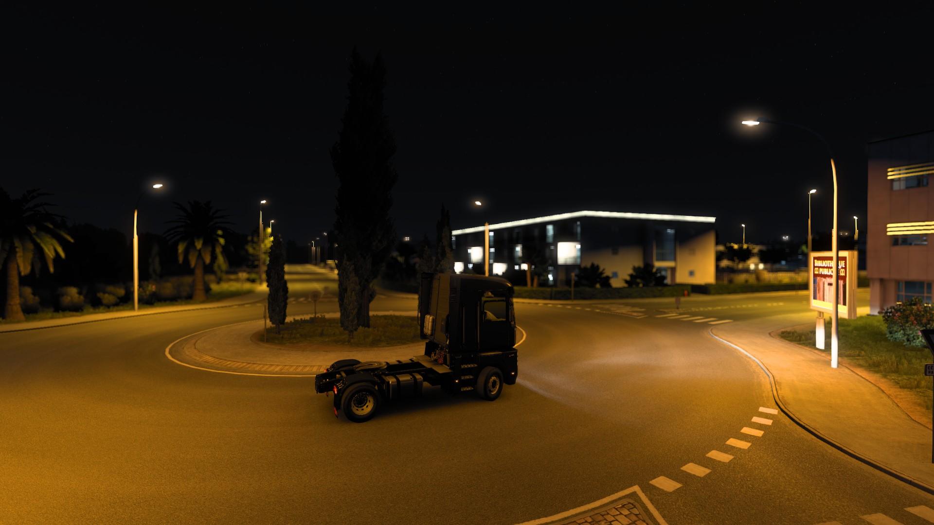 ETS 2 Update 1.40 Night Glow