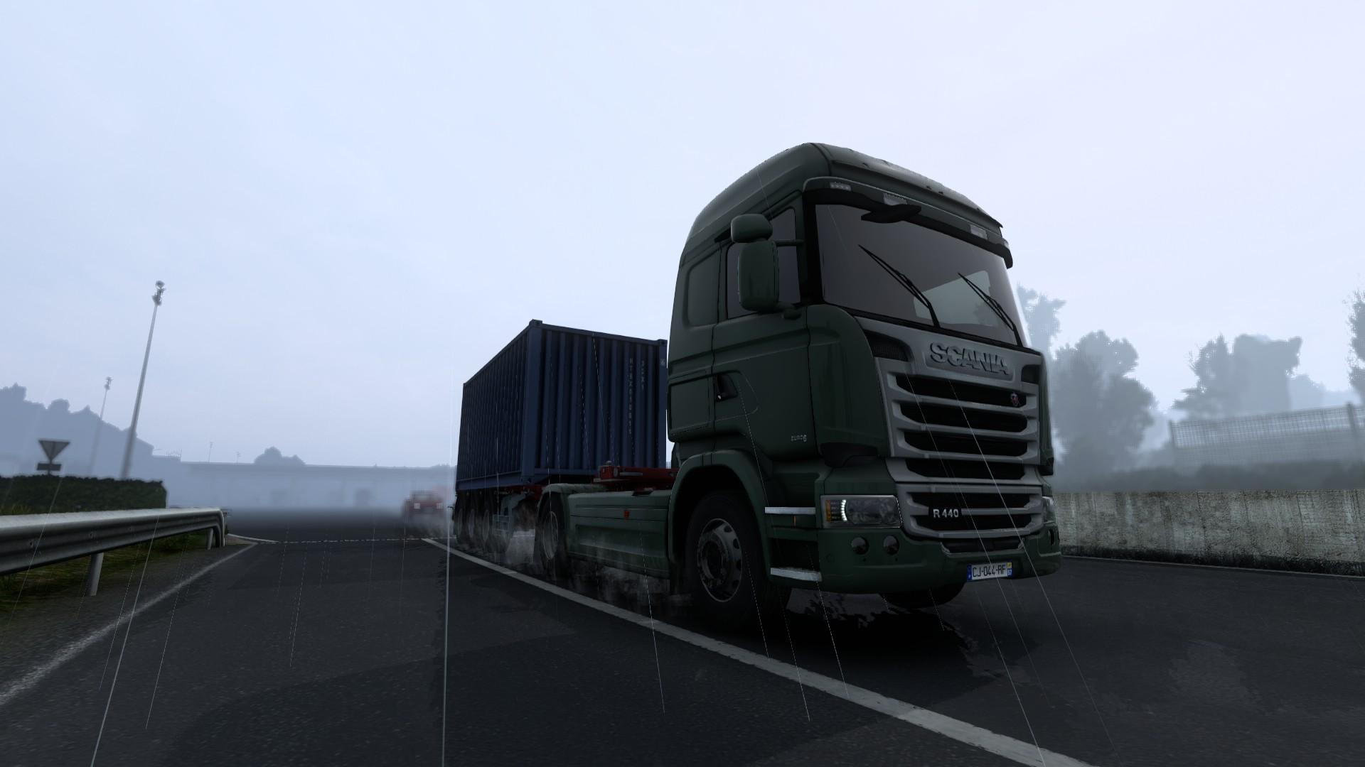 Euro Truck Simulator 2 Update 1.40 Rain Storm