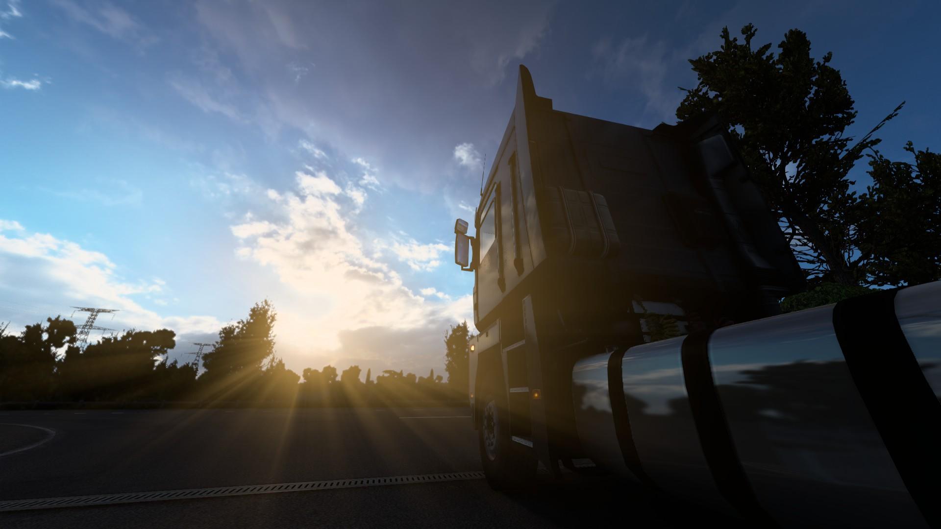ETS 2 Update 1.40 Sunshine