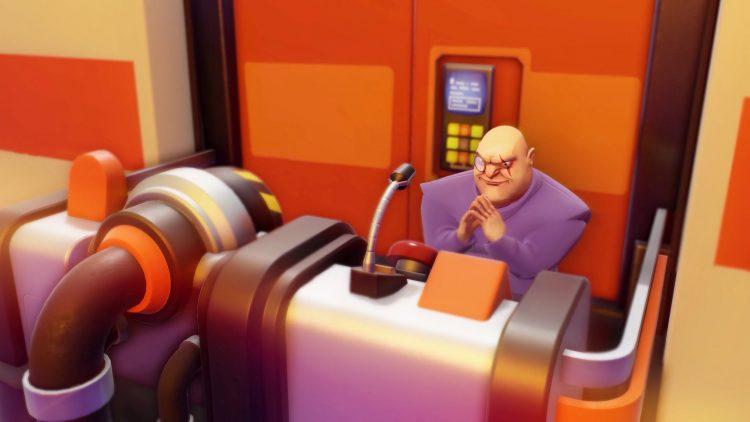 Evil Genius 2 characters Maximilian Doomsday Device