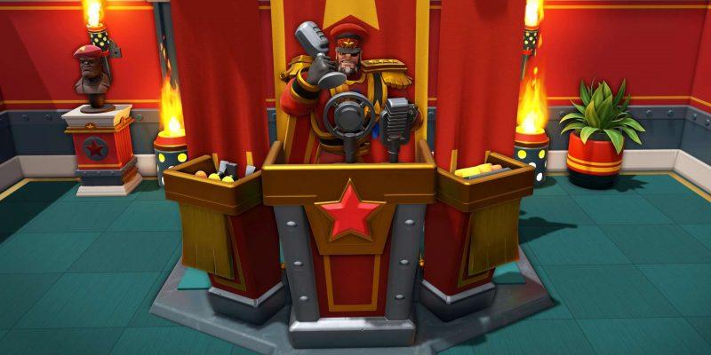Evil Genius 2 Red Ivan Microphone