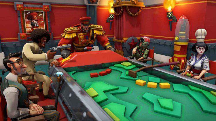 Evil Genius 2 Red Ivan characters Henchman Table