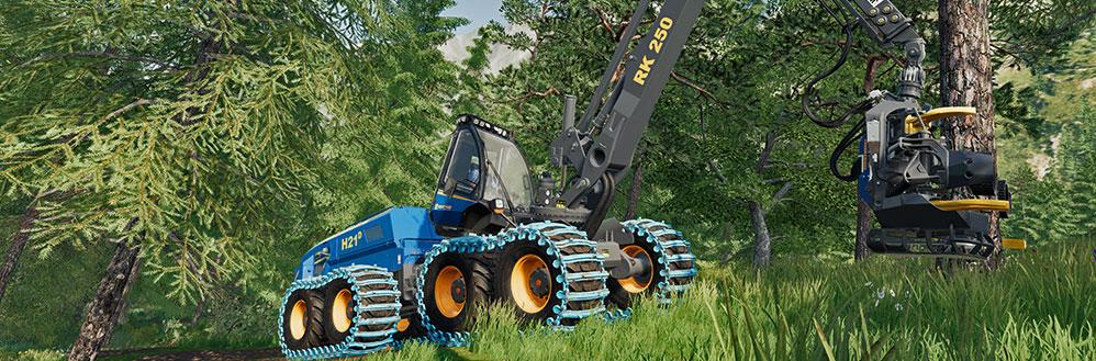 Farming Simulator 19 Rottne Pack H21d