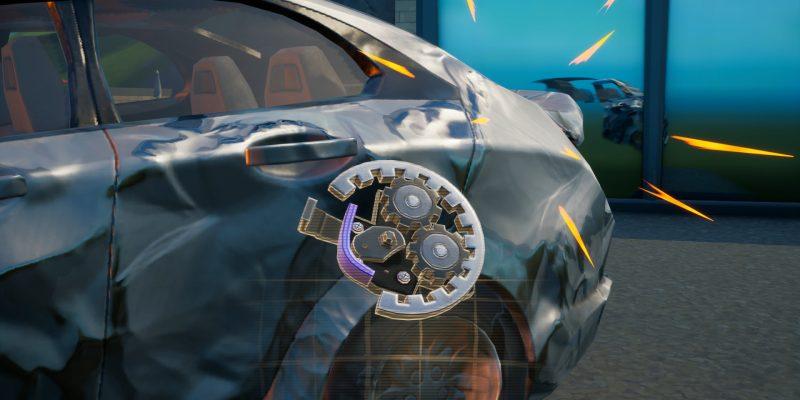 Fortnite Season 6 Mechanical Parts Challenge