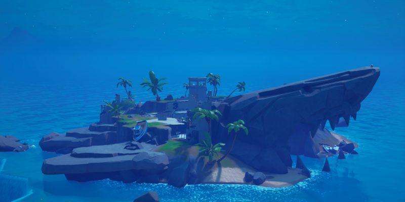 Fortnite Anomaly Shark Island