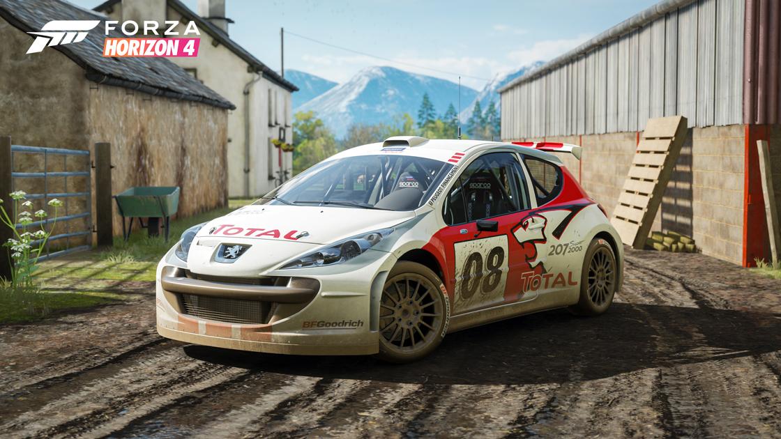 Forza Horizon 4 Peugeot 207 S2000