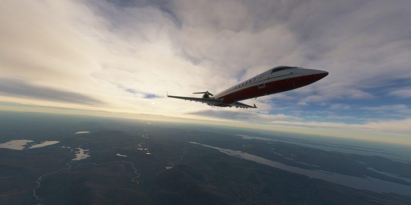 Microsoft Flight Simulator Aerosoft Crj 550 700 Daybreak