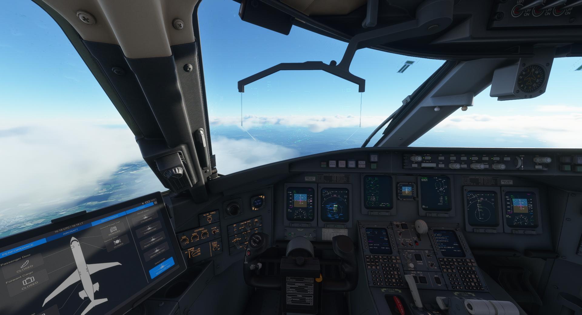 Microsoft Flight Simulator Aerosoft Crj 550 700 Flightdeck