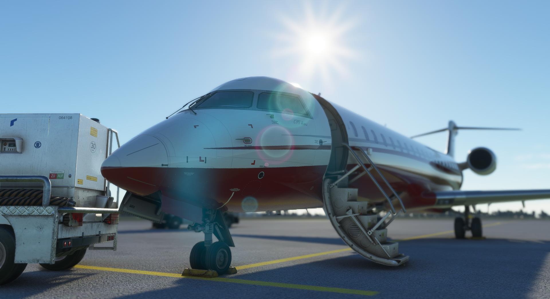 Microsoft Flight Simulator Aerosoft Crj 550 700 Ramp 1