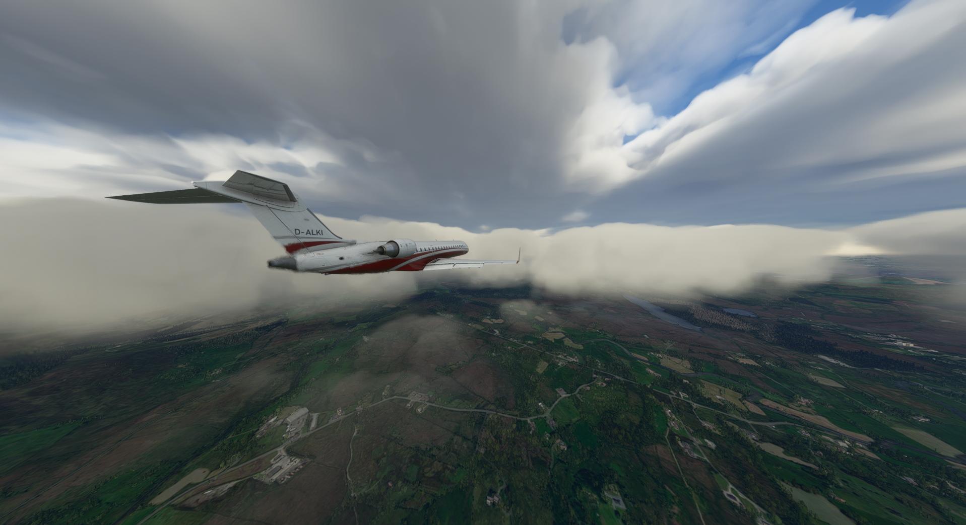 Microsoft Flight Simulator Aerosoft Crj 550 700 Stormy Approach