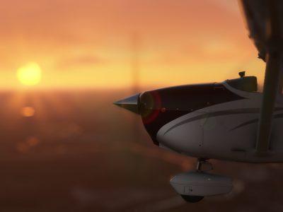 Microsoft Flight Simulator Cessna In The Sun