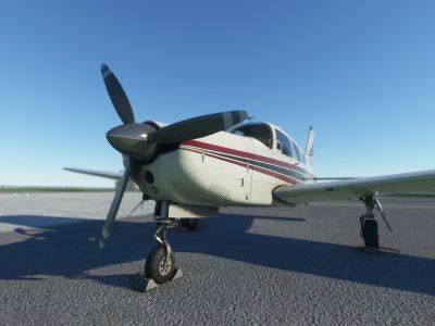Microsoft Flight Simulator Just Flight Piper Pa 28r Arrow Iii P1