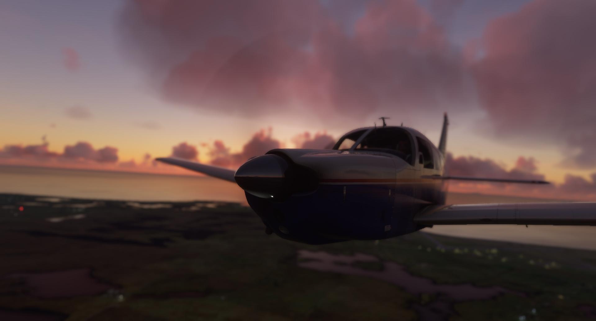 Microsoft Flight Simulator Just Flight Piper Pa 28r Arrow Iii P7