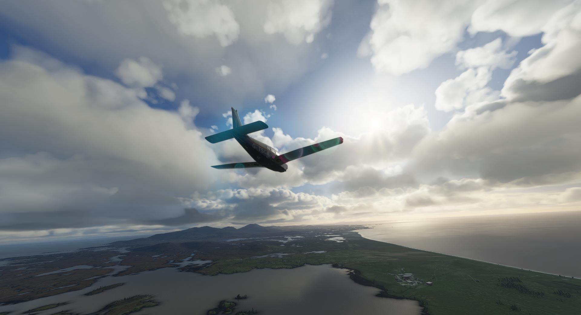 Microsoft Flight Simulator Just Flight Piper Pa 28r Arrow Iii P8