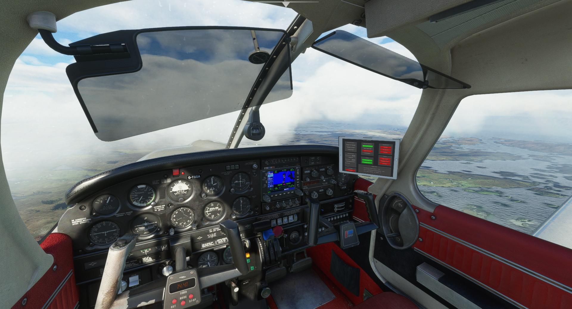 Microsoft Flight Simulator Just Flight Piper Pa 28r Arrow Iii P9