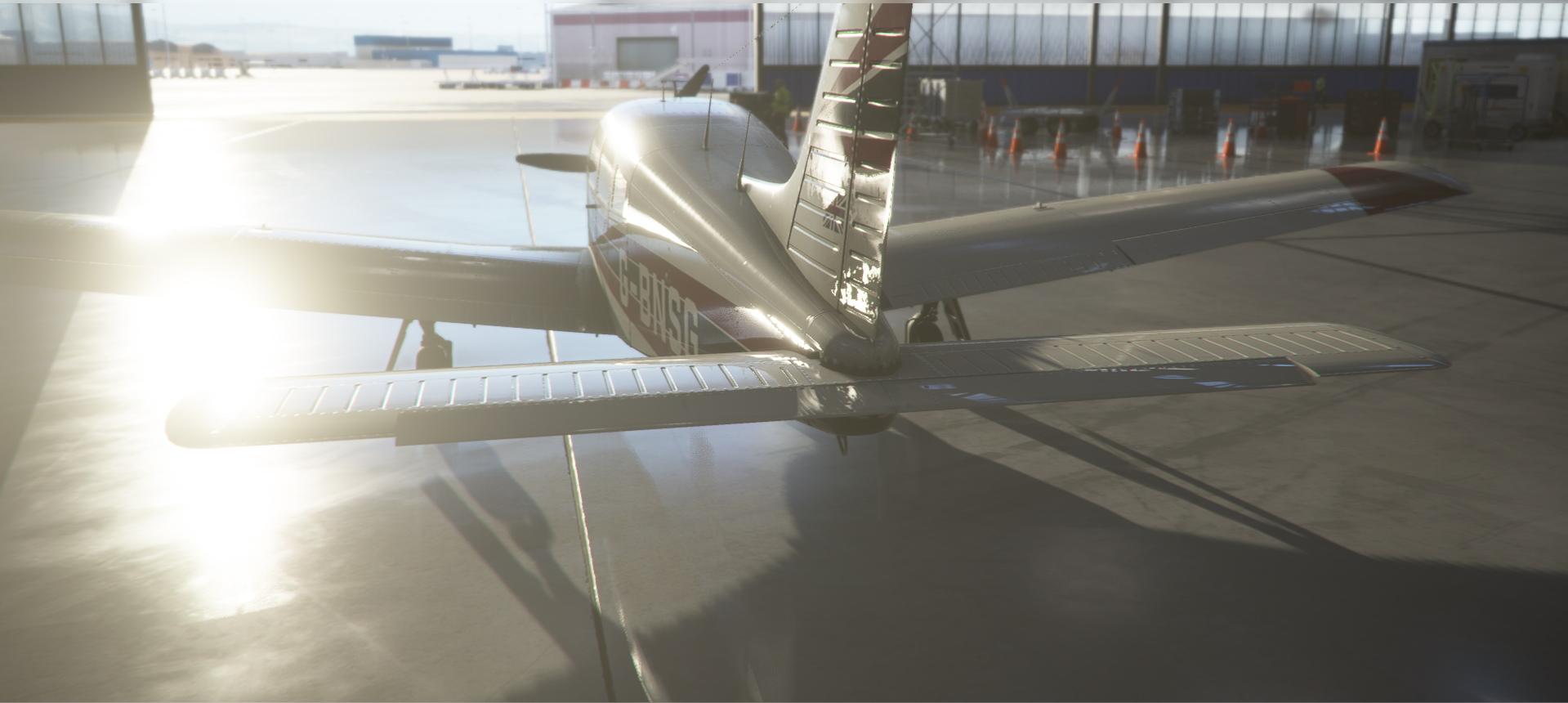 Microsoft Flight Simulator Piper Arrow 2