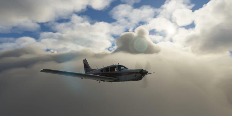 Microsoft Flight Simulator Piper Arrow 3