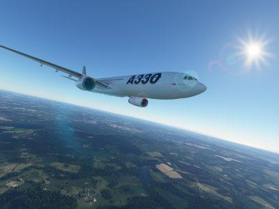 Microsoft Flight Simulator Project Mega Pack Airbus A330 300 2