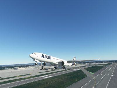 Microsoft Flight Simulator Project Mega Pack Airbus A330 300 7