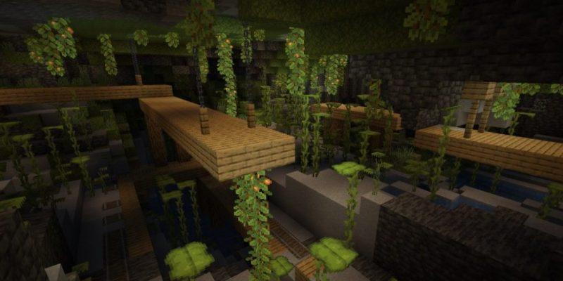 Minecraft caves & cliffs part i release date