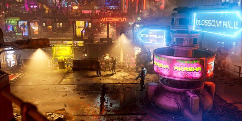 The Ascent Steam Trailer Cyberpunk