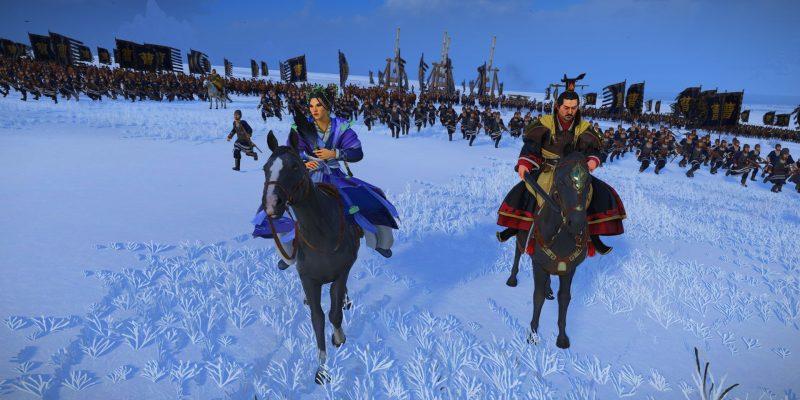 Total War Three Kingdoms Fates Divided Cao Pi Zhen Ji Lady Zhen Marriage Guide