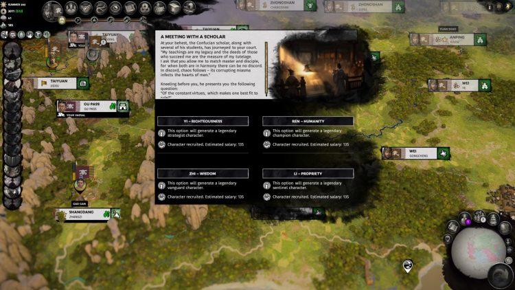 Total War Three Kingdoms Fates Divided Руководство по переработке Совета фракций 2