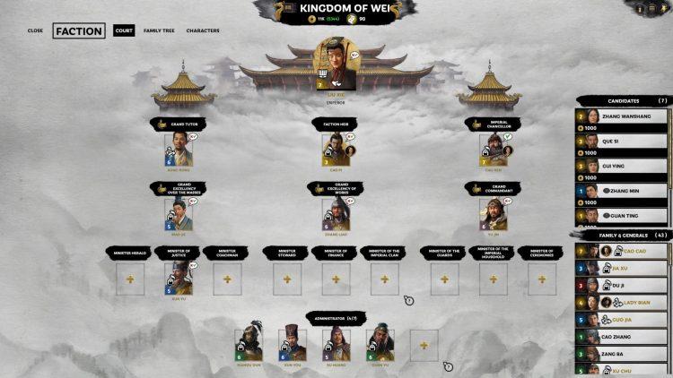 Total War Three Kingdoms Fates Divided Ханьский император Сианьский император Лю Се Восстановить Ханьскую империю Руководство 2b