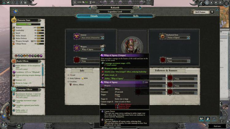 Total War Warhammer Ii Warhammer 2 Rakarth Whip Of Agony Quest Battle Unique Item Guide 2a