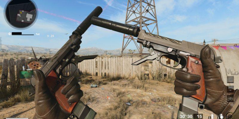 Warzone Diamatti Pistol