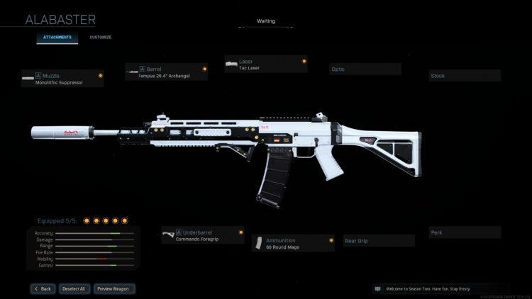 Warzone Grau Build Gunsmith