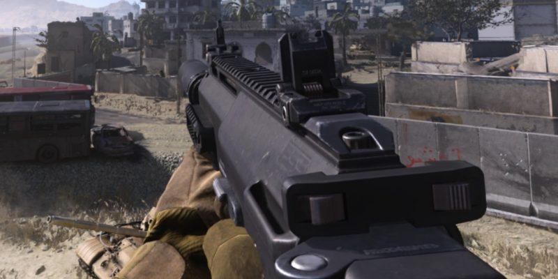 Warzone Mp7 Build In Game Model