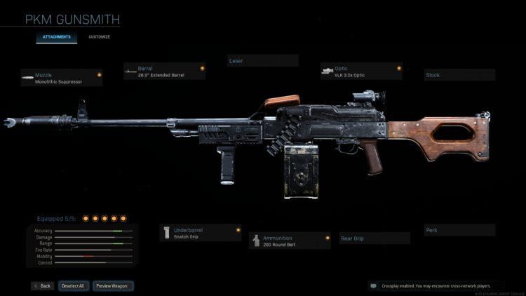 Warzone Pkm Build Gunsmith