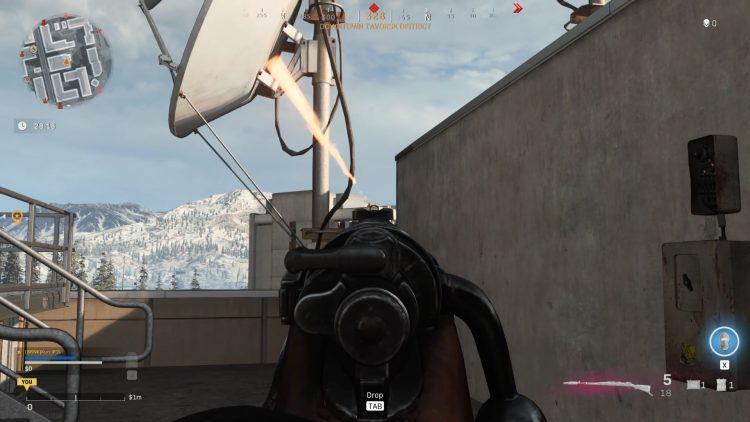 Warzone Season Three Kar98k Iron Sights